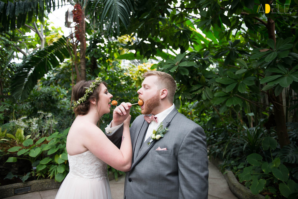Ashley and Duncan's Calgary Zoo Wedding