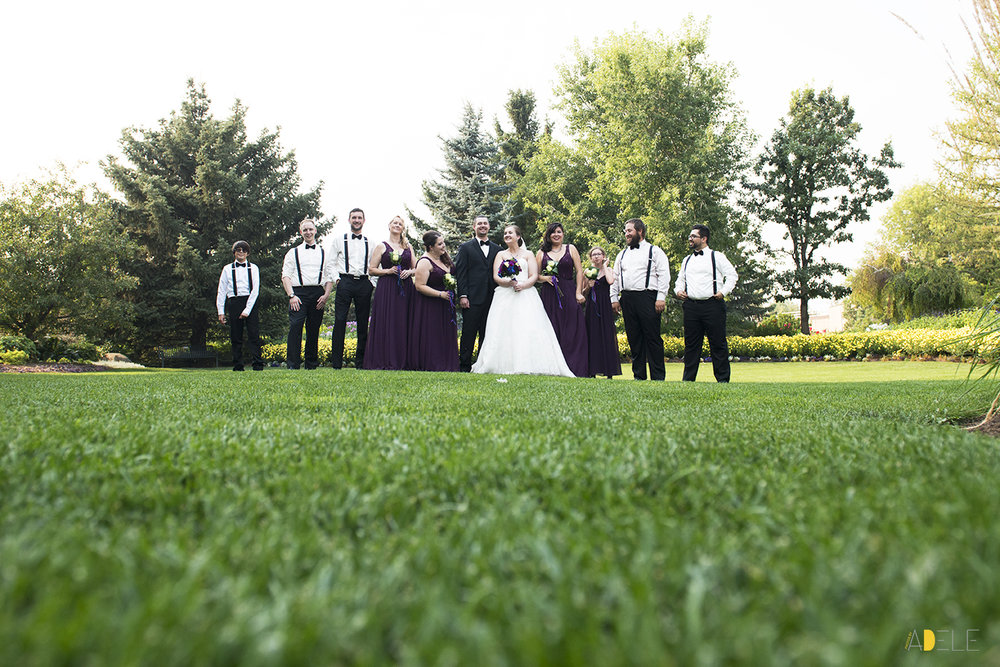 Christine and Tristan's Calgary Zoo Wedding