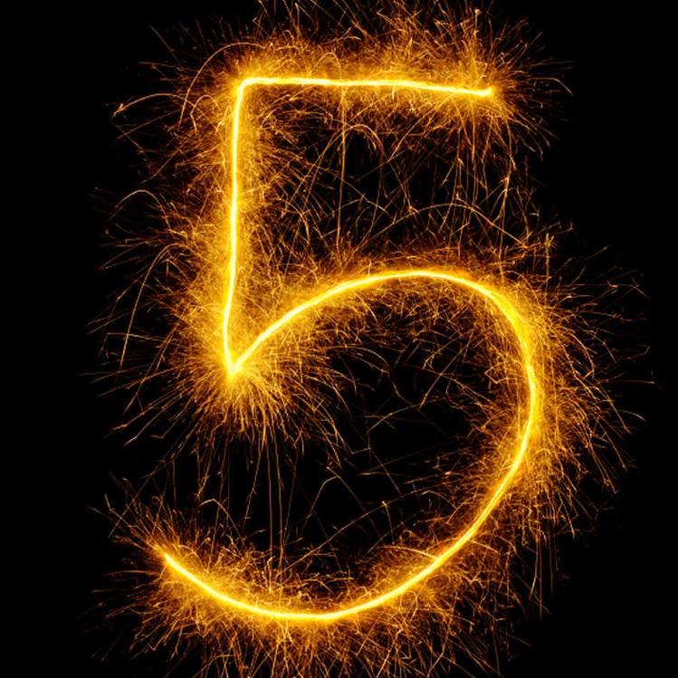 5 Jahre Blog Geburtstag