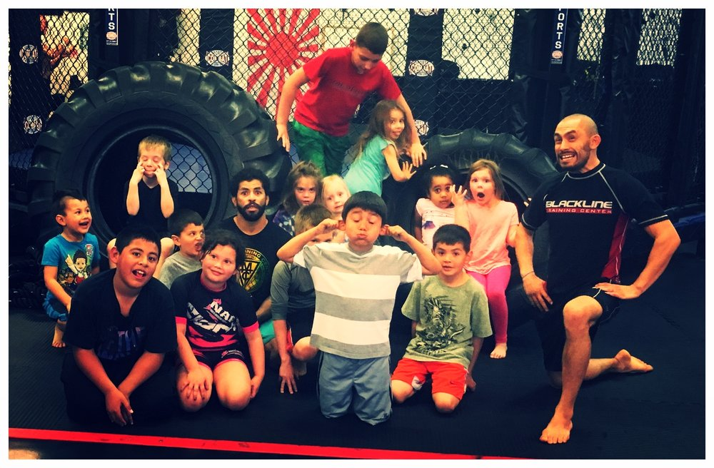 Kids programs(4-12 years old) -  · Kids Jiu-Jitsu (ages 4-12 years old):> Tuesdays and Thursdays 5-6pm: $50 a month· Kids Boxing :>Mondays and Wednesday 5:30-6:30pm:$50 a month