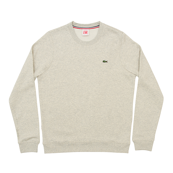 Lacoste L!VE   Round Neck Sweatshirt  £70