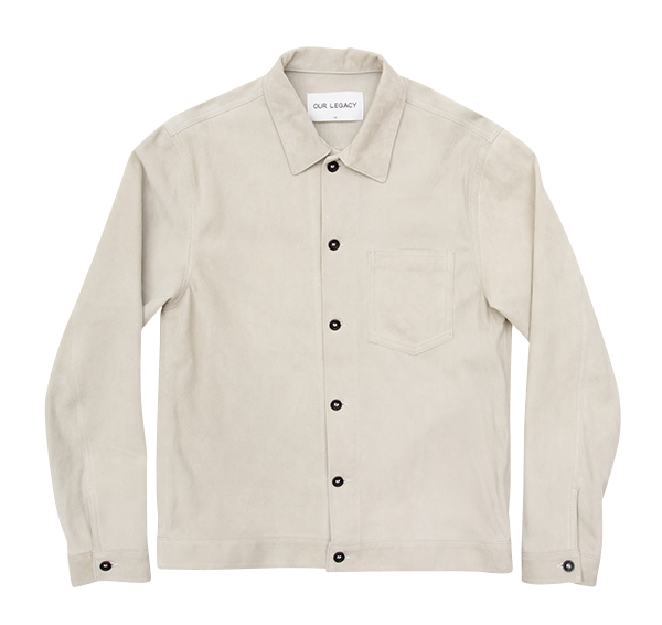 Our Legacy Suede Shirt £487