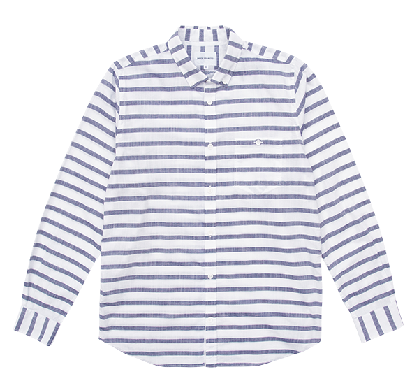Norse Projects Anton Nautical Cotton Shirt £100