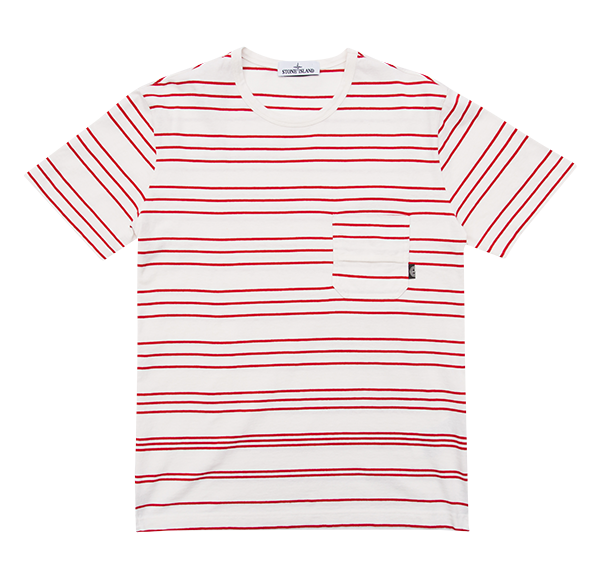 Stone Island Stripe Pocket Tee £95