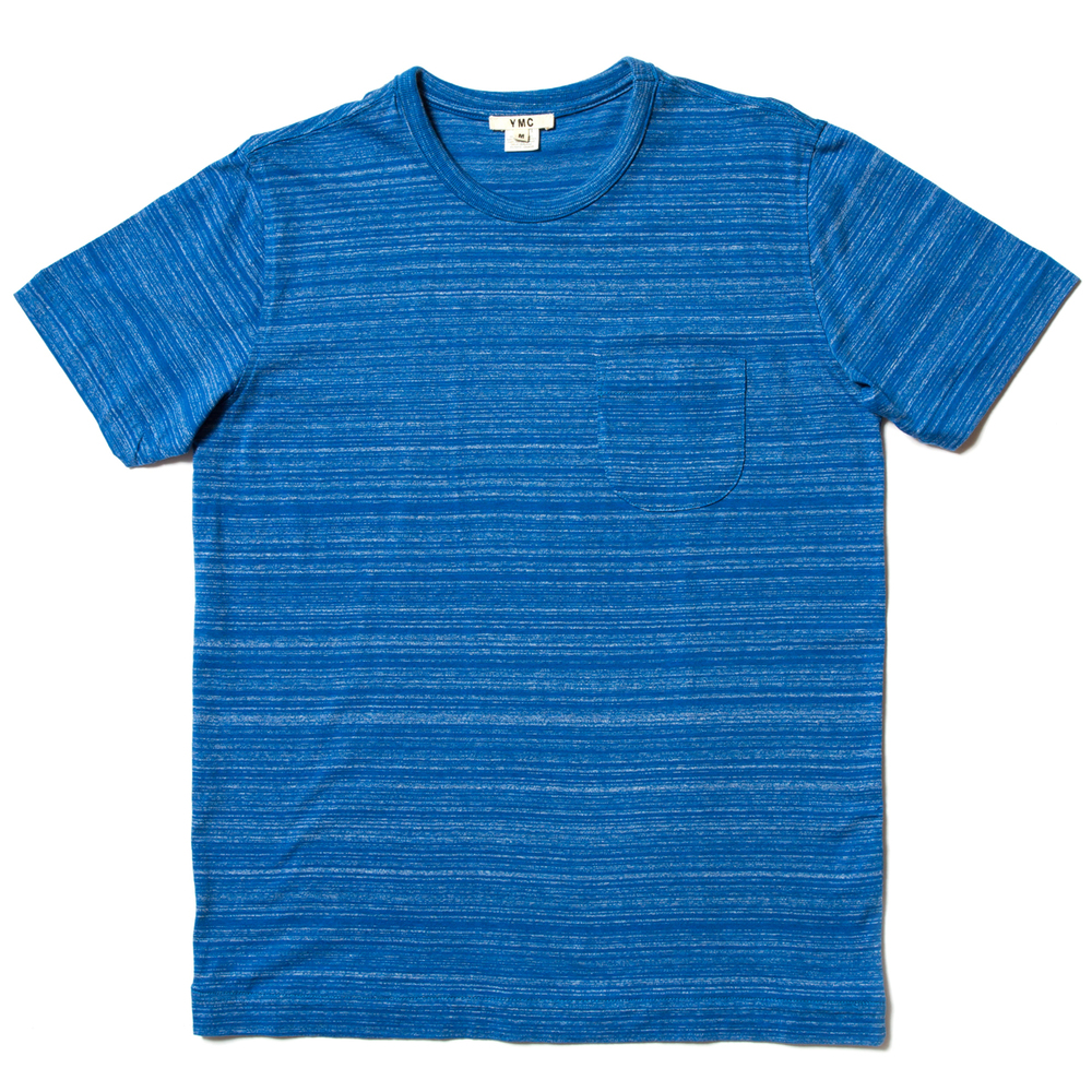 YMC Space Dye Pocket Tee £55