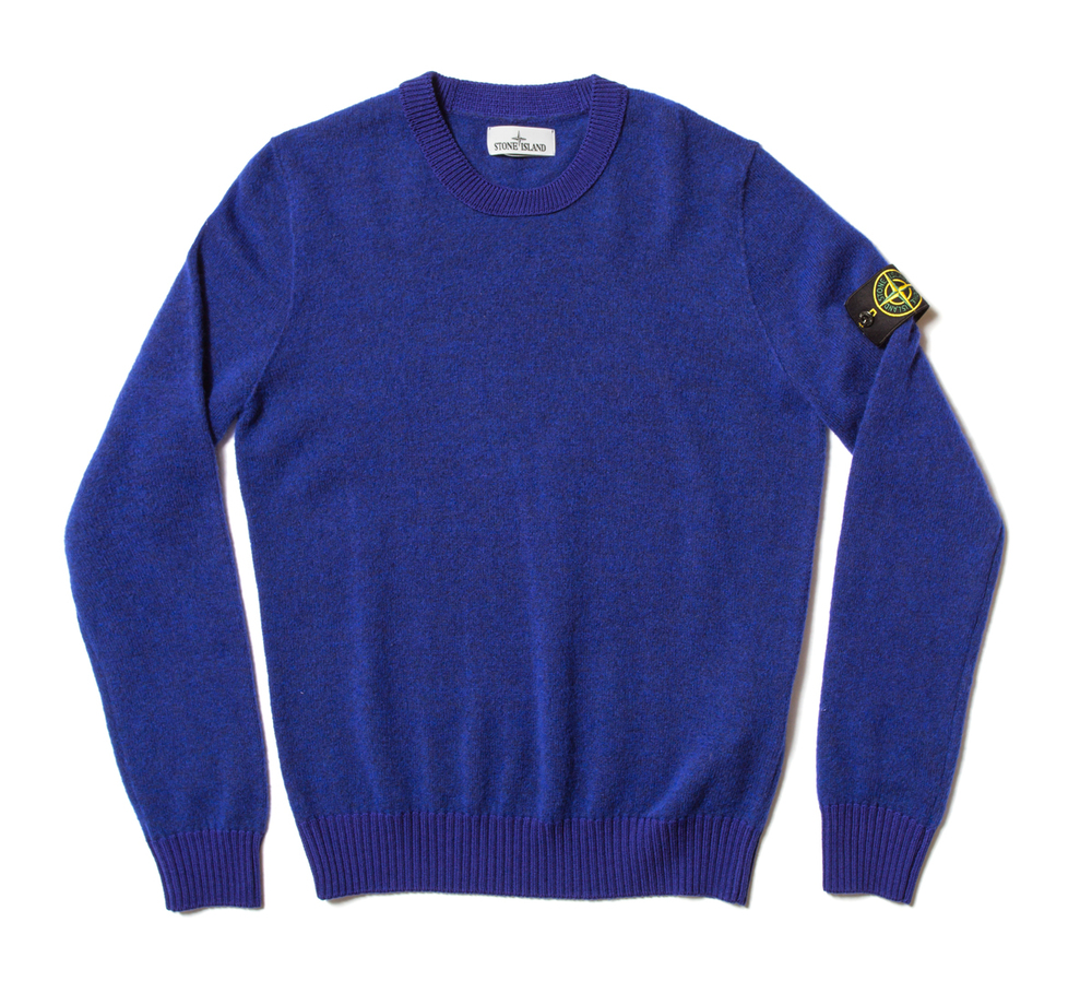 Stone Island Light Brushed Wool Crew Neck £210