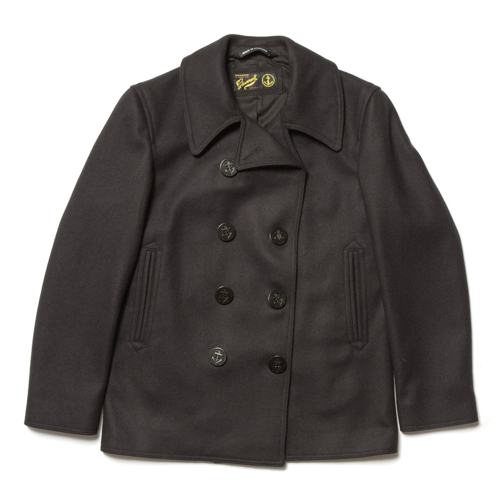 Gloverall Big Button Reefer Jacket £310