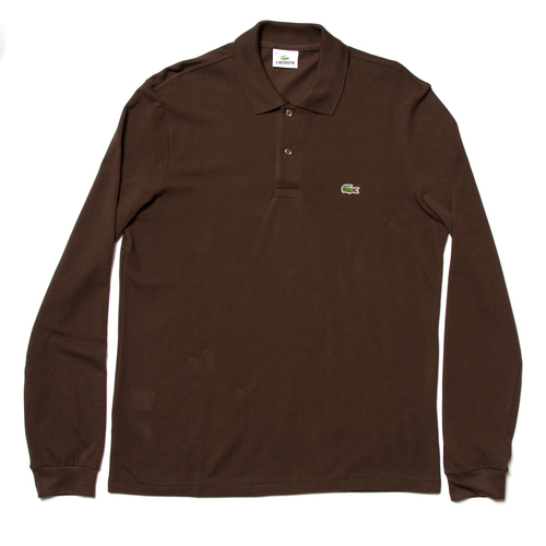 a46db8efcca69 Lacoste Long Sleeved Pique Polo £85