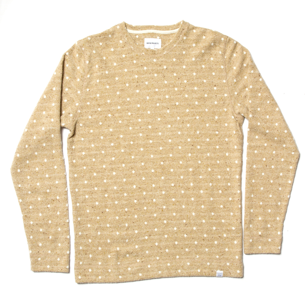 Norse Projects Halfdan Polka Stripe Knit £120
