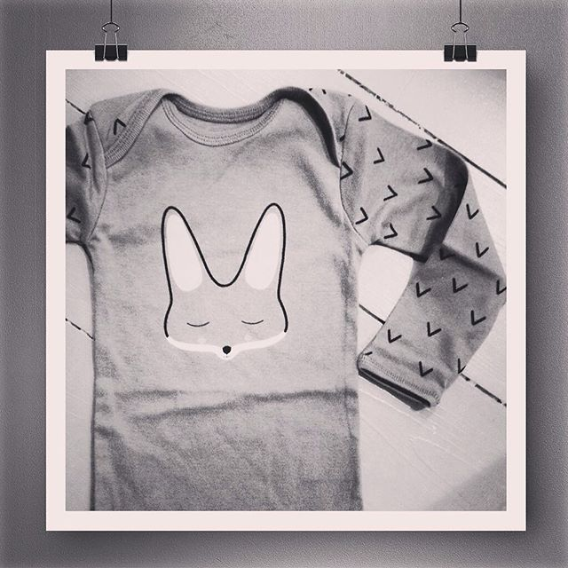 Too cute! #fox body in #organic cotton!  http://kidnordic.com/products/puipia-organic-fox-body  #scandi #kids #kidsfashion #organiccotton #babystyle