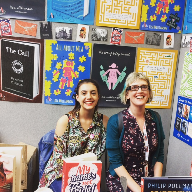 At YALC last summer with the wonderful Jasmine from DFB