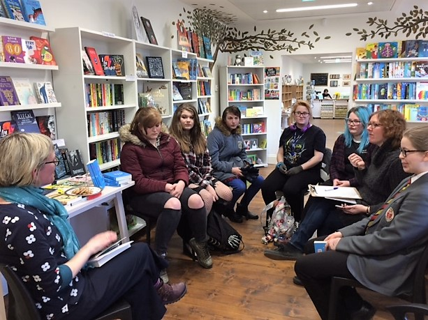 Meeting the YA readers at Bookworms