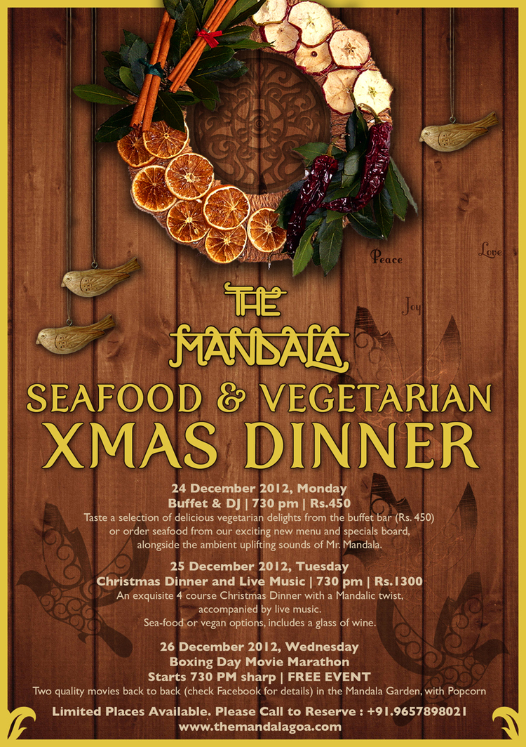 MANDALA CHRISTMAS GALA 2012 — The Mandala Resort : : : : : Sleep ...