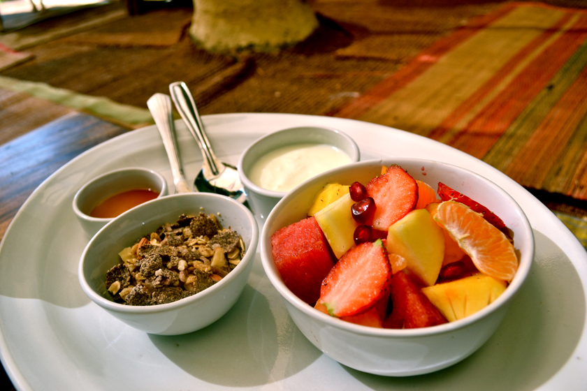 JUST A SMALL PART OF OUR FRESH COMPLIMENTARY BREAKFAST TO START YOUR DAY WITH CLARITY