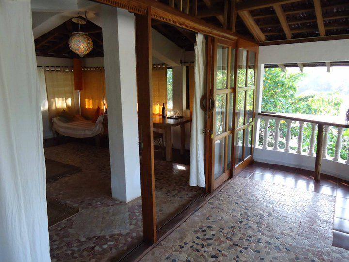 Balcony of Panomandala hotel penthouse suite