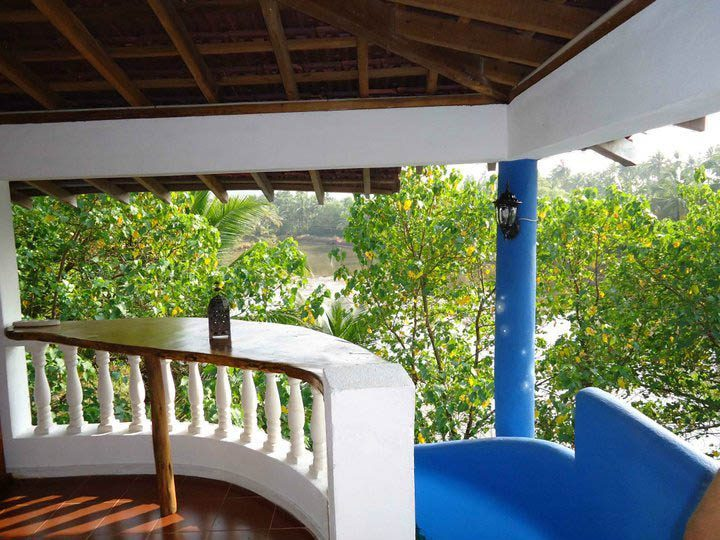 Balcony view from Panomandala top floor suite