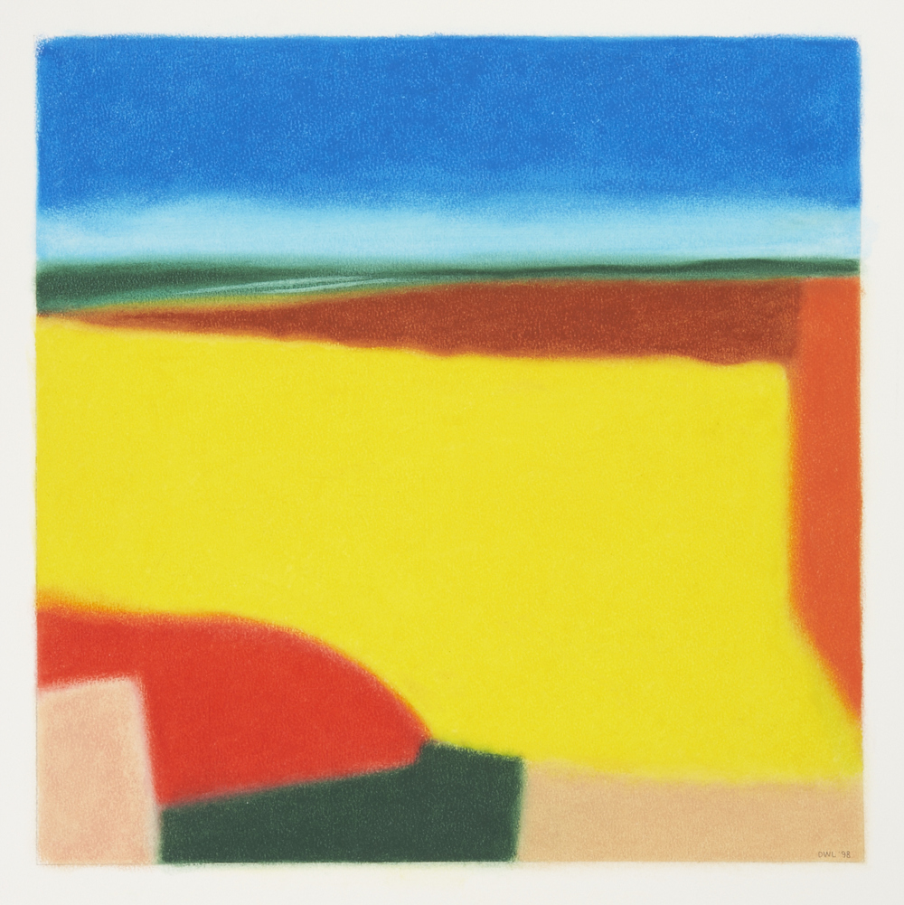 Childhood Memory of A Beach - Oil Pastel