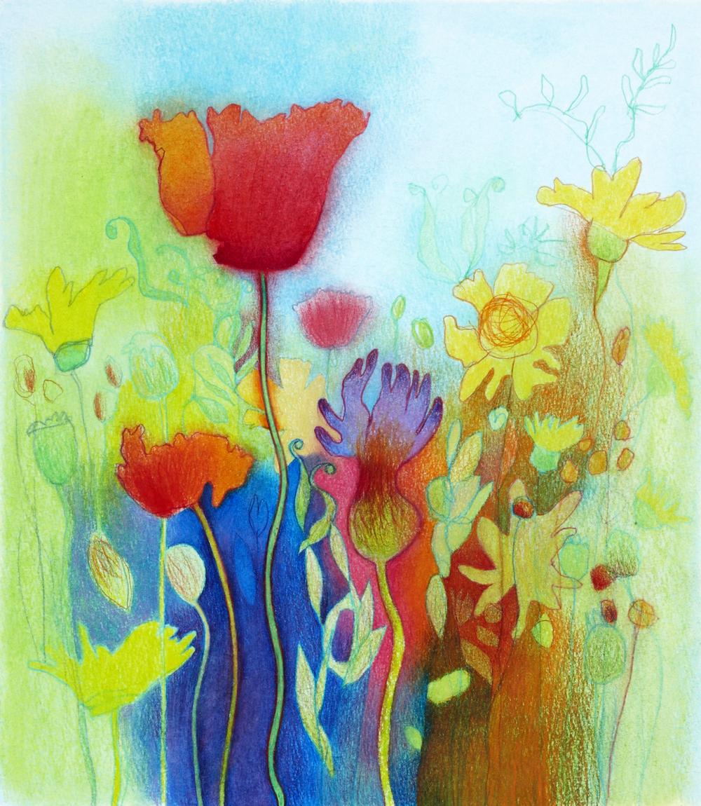 Wildflowers ix