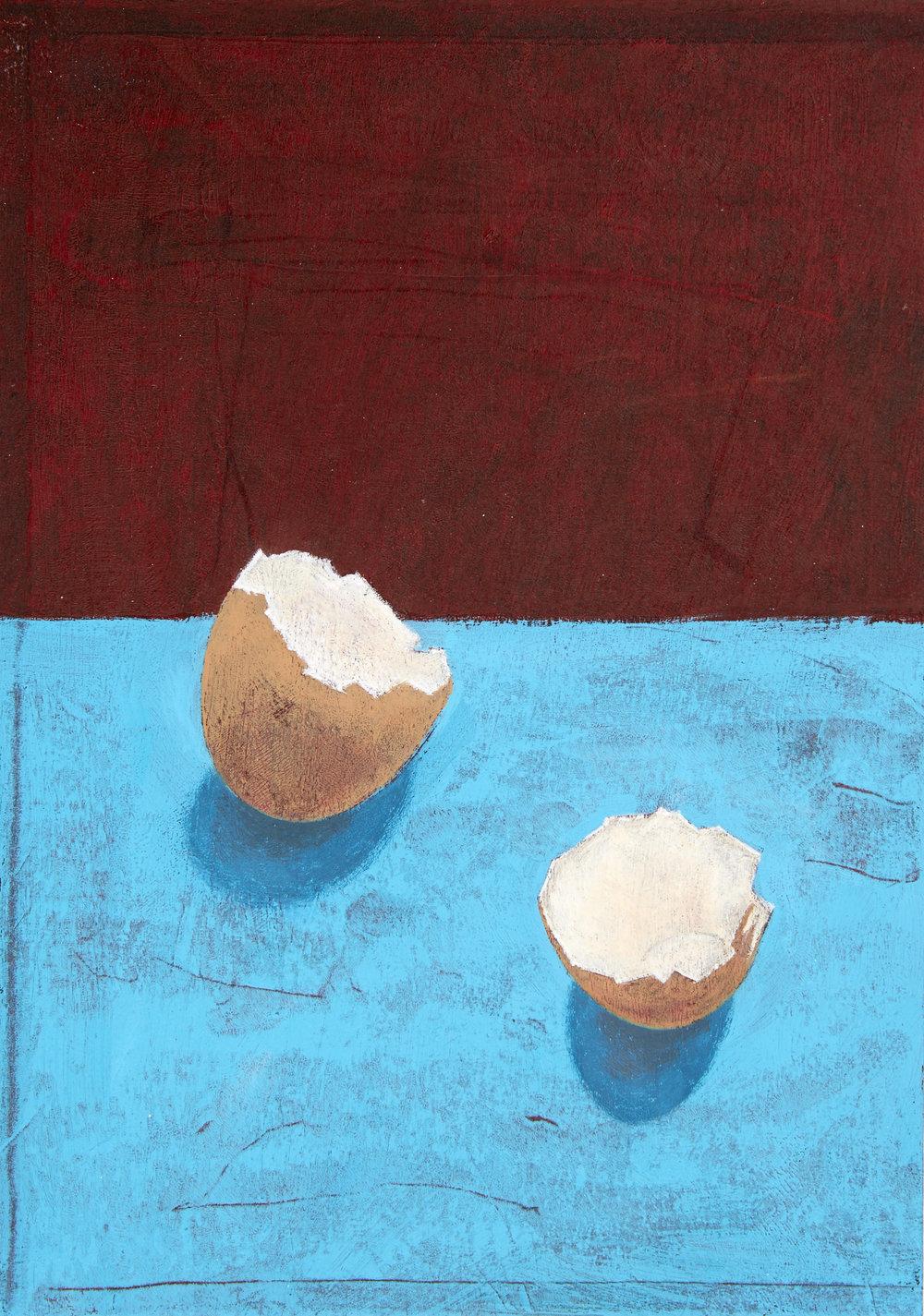 Aqua Eggshells
