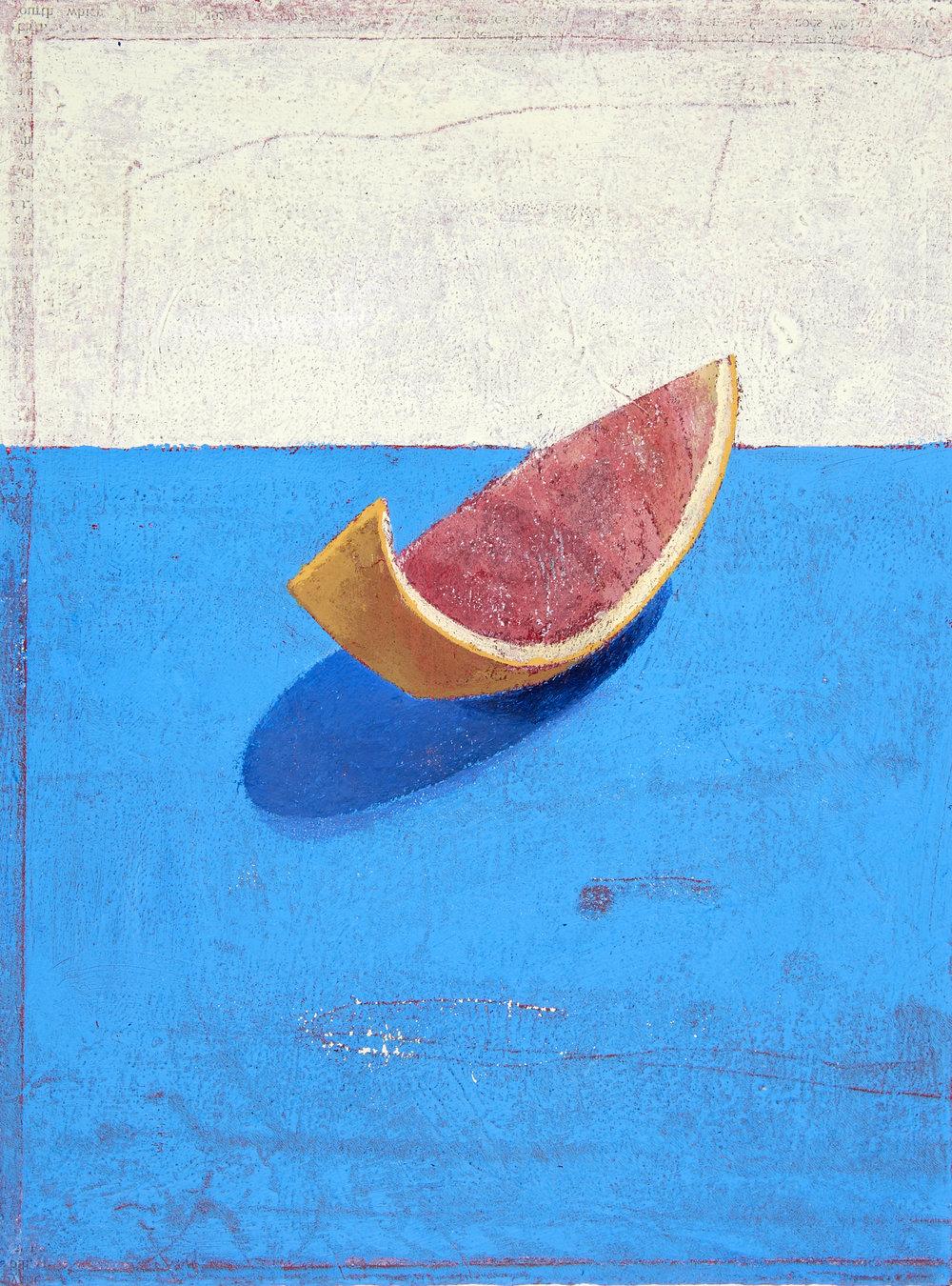 Blue Orange Peel Segment