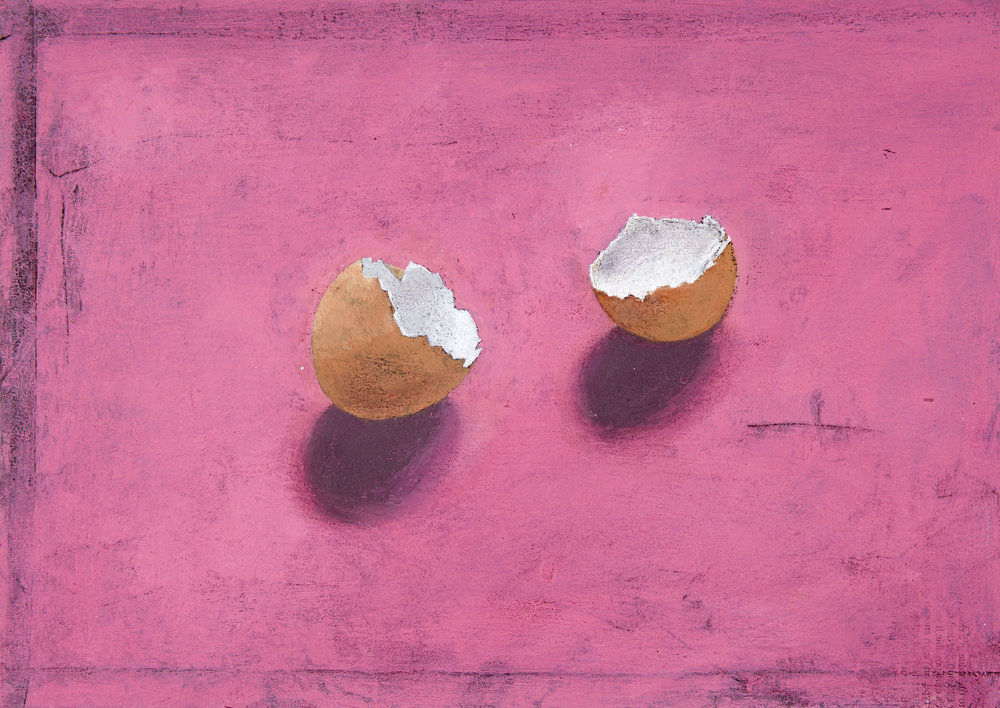 Pink Eggshells