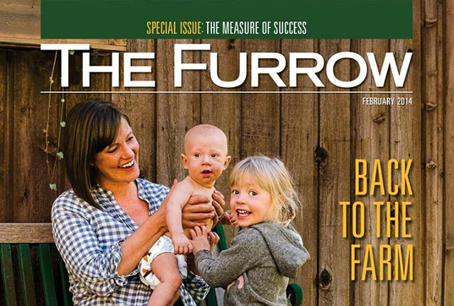 The latest Issue of John Deere's long-running The Furrow magazine