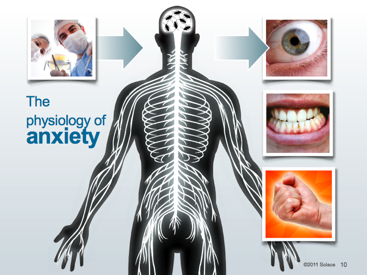Slide from the NuCalm presentation designed for dental continuing education events
