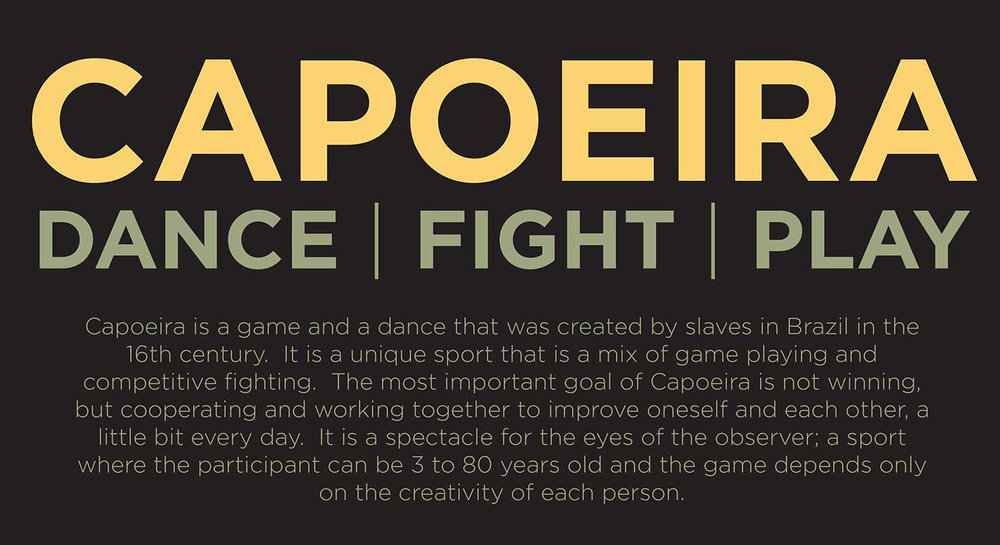 Capoeira Gunga do Vale Poster
