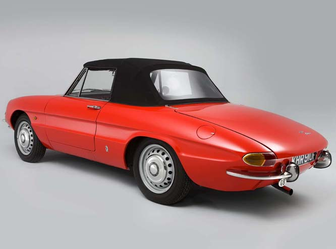 Black And White Garage 1967 Alfa Romeo Spider 1600