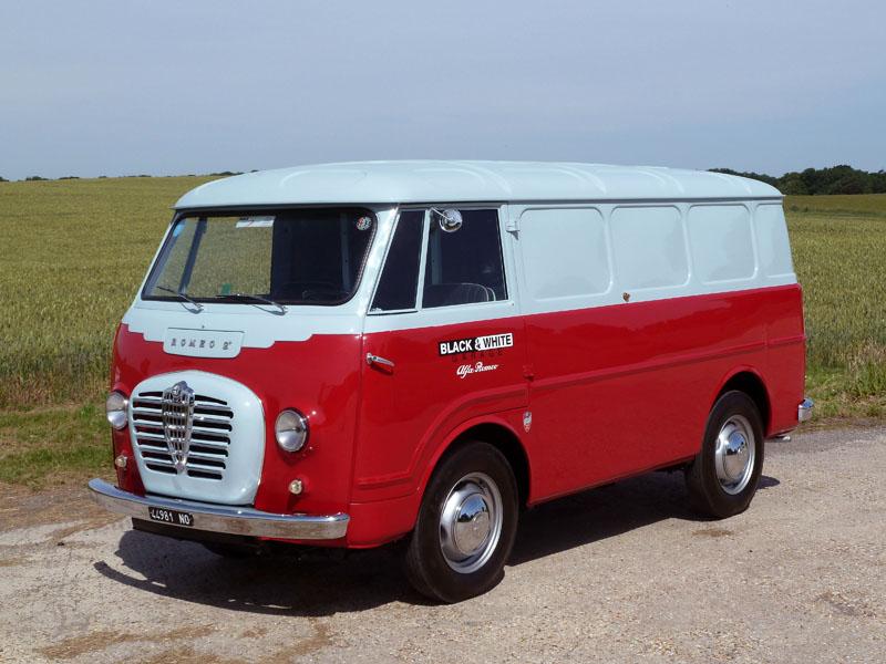 Black and white garage 1957 alfa romeo romeo 2 furgone - Nearest alfa romeo garage ...