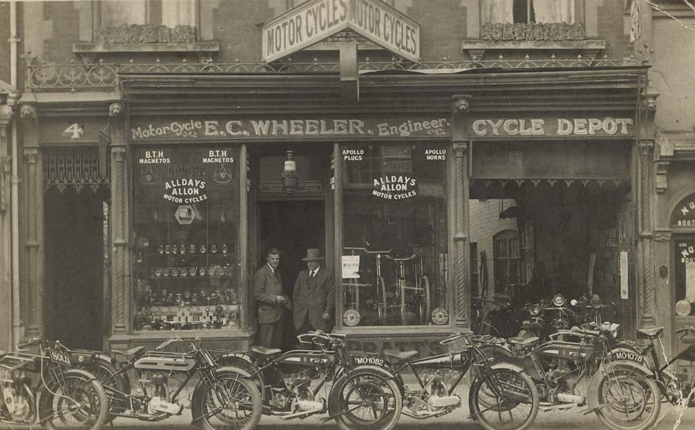 E. C. Wheeler, The Broadway, Newbury. September 1923