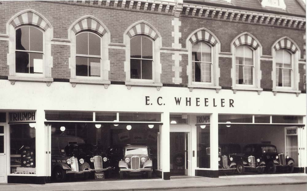 E. C. Wheeler, The Broadway, Newbury