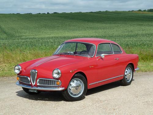 Black and White Garage - 1959 Alfa Romeo Giulietta Sprint