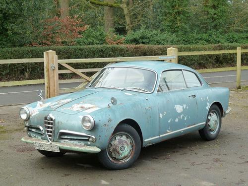 Black and White Garage - 1956 Alfa Romeo Giulietta Sprint