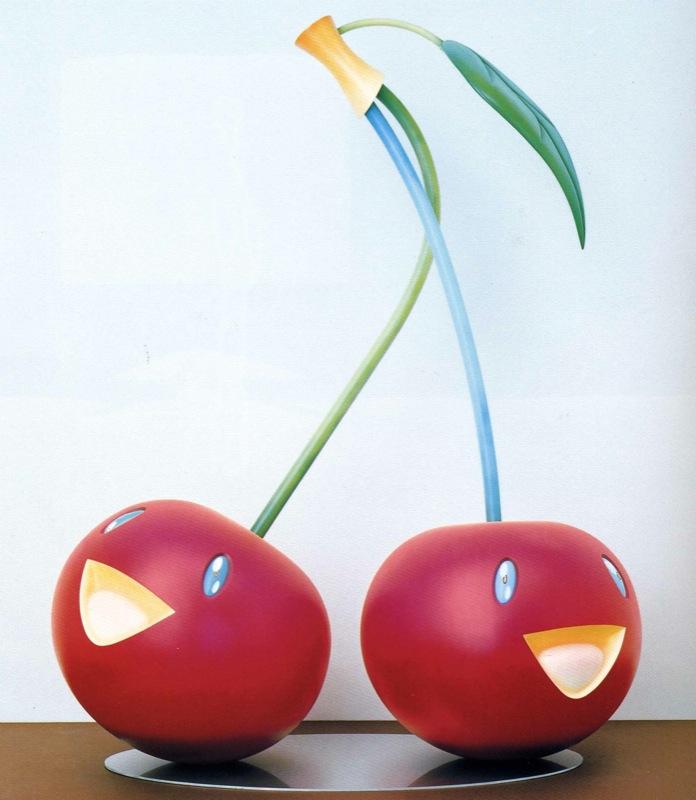 """Cherries"" (2005) source: Galerie Perrotin"