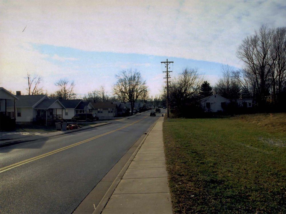 Pre-existing Street