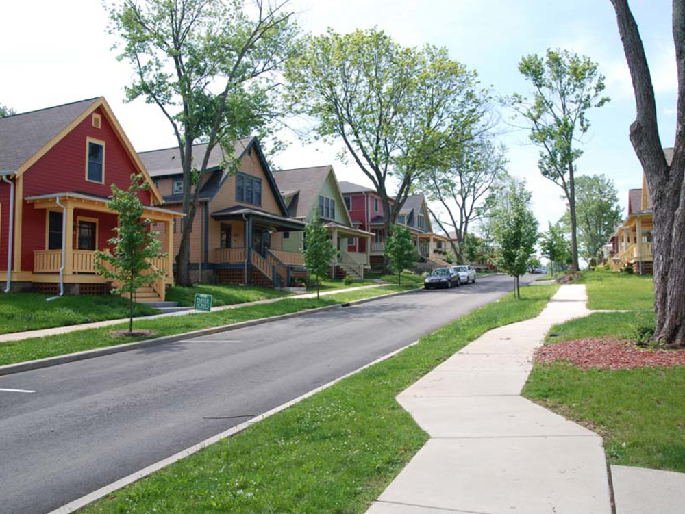 New Houses on Street