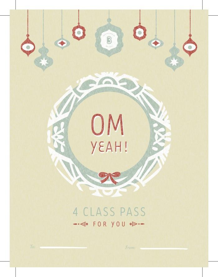 4 Class Pass   3B yoga Provo, Utah