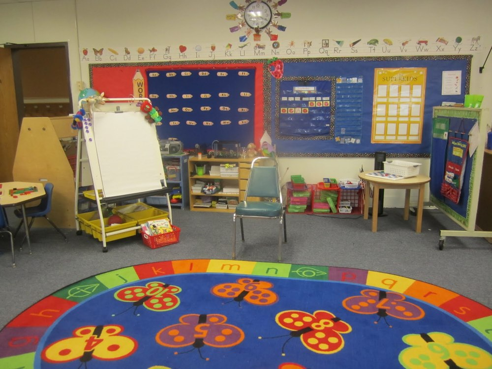 Example: You can get creative if you want, but any photo of your classroom will do. ;)