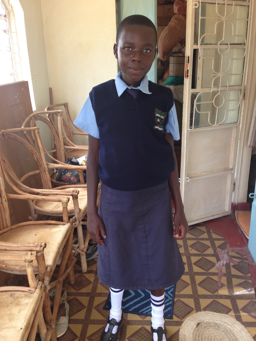Mercy was one of our Outreach Girls and was in 9th grade this year, she was at the top of her class!