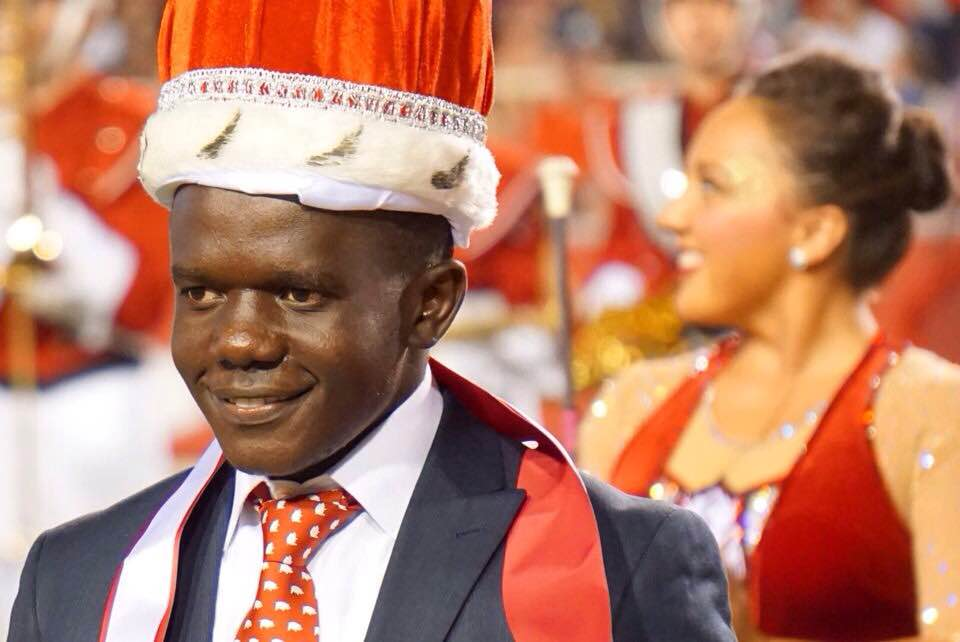 Our First RH Scholar crowned UA Homecoming King at the Ole Miss Game in October.