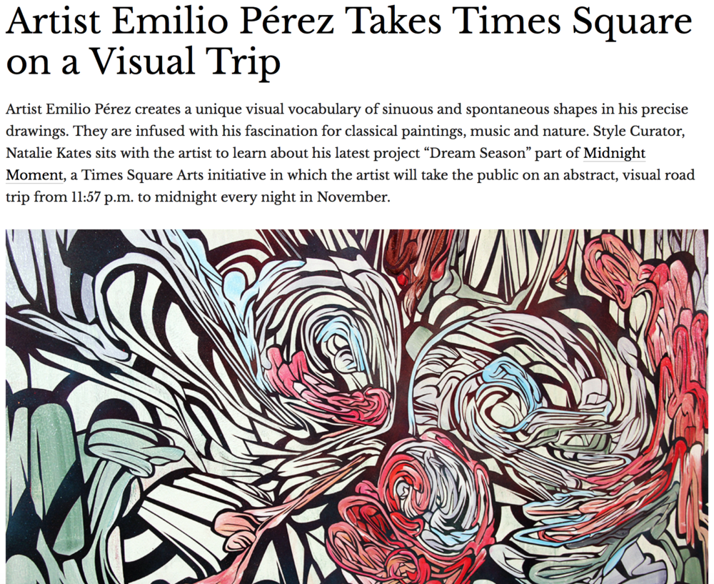 Vaga Magazine Emilio Perez Interview