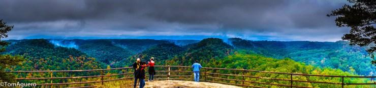 As you walk around, enjoy the nearly 360 degree views around the valleys.