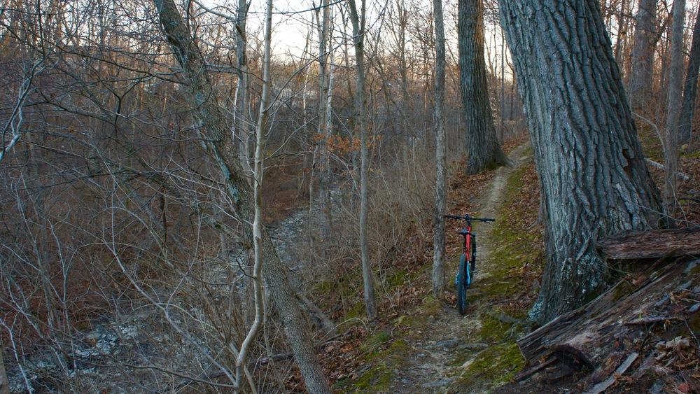 High above the creek at Landen Deerfield.