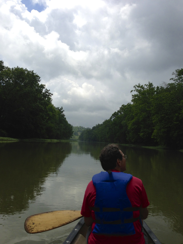 paddling the little miami river