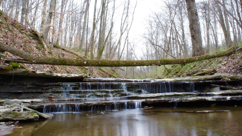 red bird hollow waterfalls