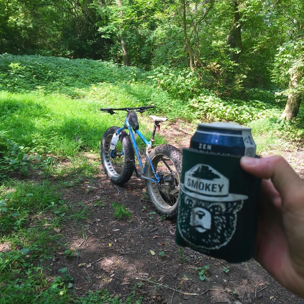 #bikedrinking