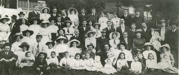 Picnic at Clifton Gardens, Sydney Harbour on 14 October 1913
