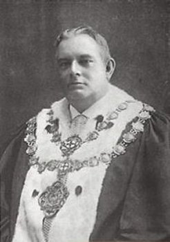 Lord Mayor Arthur Cocks