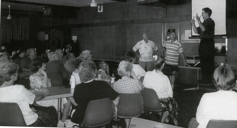 Deaf Senior Citizens Group at Lidcombe 1998